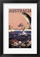 Framed Australia - Great Barrier Reef