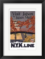 Framed Visit Japan
