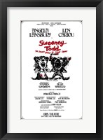 Framed Sweeney Todd (Broadway)