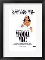 Framed Mamma Mia (Broadway)