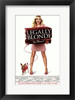 Framed Legally Blonde - The Musical (Broadway)
