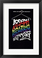 Framed Joseph and the Amazing Technicolor Dreamcoat (Broadway) - style A