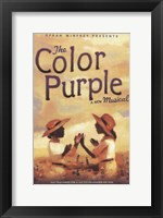 Framed Color Purple (Broadway)