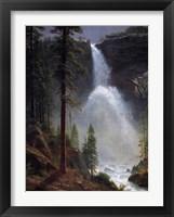 Framed Nevada Falls