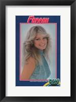 Framed Farrah Fawcett - style D
