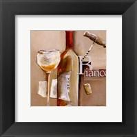 Il Vino Bianco Framed Print