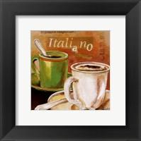 Framed Tipico Italiano I