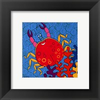 Crispin Crab Framed Print