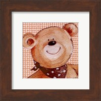 Framed Spotty Scarf Ted