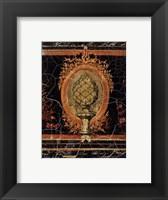 Framed Baroque Noir
