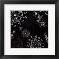 Framed Shadow Lace Floral