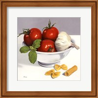 Framed Italian Cooking