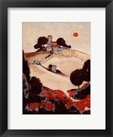 Framed Petit Luberon