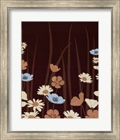 Framed Chocolate Daisy Meadow