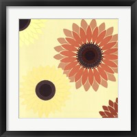 Framed Sunflower Burst