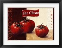 Framed Pomodori San Giusto
