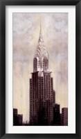 Framed Chrysler Building, N.Y.C.  5