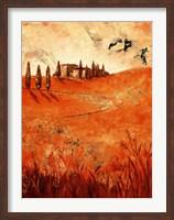 Framed Montalcino