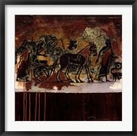Framed Etruscan Treasure