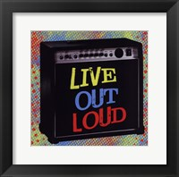 Framed Live Out Loud