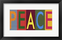 Framed Peace - Bright Colors