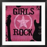 Framed Girls Rock