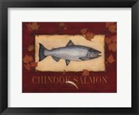 Framed Chinook Bass