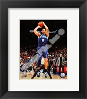 Framed Deron Williams 2008-09 Action