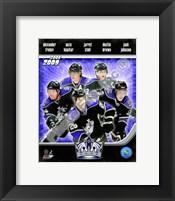 Framed 2008-09 Los Angeles Kings Team Composite