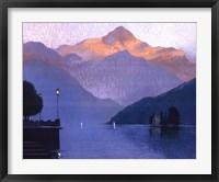 Framed Italian Twilight
