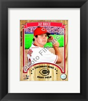 Framed Jay Bruce - 2009 Studio Plus