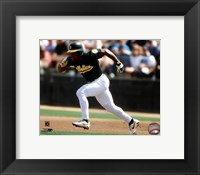 Framed Rickey Henderson 1998 Action