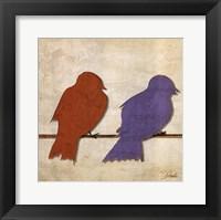 Birds I Framed Print