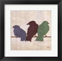 Birds III Framed Print