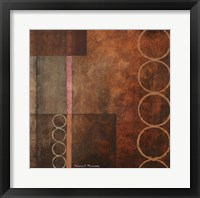Circles in the Abstract I Framed Print