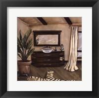 Hollywood Bath II Framed Print