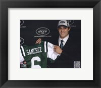 Framed Mark Sanchez 2009 Draft Day