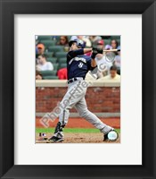 Framed Ryan Braun 2009  Batting Action
