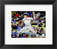 Framed Barry Zito - 2009 Pitching Action