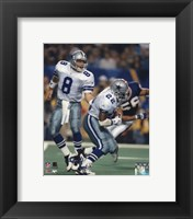 Framed Troy Aikman / Emmitt Smith