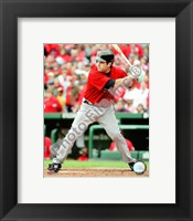 Framed Lance Berkman - 2009 Batting Action