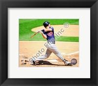 Framed Joe Mauer - 2009 Batting Action