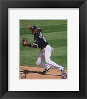 Framed Alexei Ramirez - 2009 Fielding Action