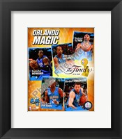 "Framed 2009 Finals - Magic ""Big 5"""