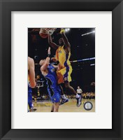 Framed Lamar Odom Game One of the 2009 NBA Finals  (#4)