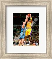 Framed Kobe Bryant Game One of the 2009 NBA Finals  (#2)