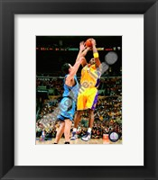 Framed Kobe Bryant Game One of the 2009 NBA Finals  (#2)