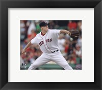 Framed Jonathan Papelbon - 2009 Pitching Action