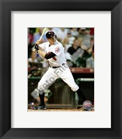 Framed Hunter Pence - 2009 Batting Action