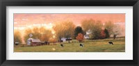 Framed Fall Pasture